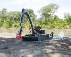 Мини земснаряд Юнга-5 для очистки водоёмов