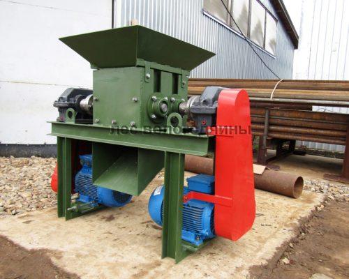 Шредер измельчитель древесных отходов