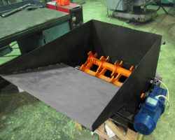 Шредер для древесного угля